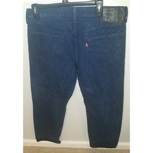 Levis 501XX 36X32 Button Fly Blue Denim Jeans.